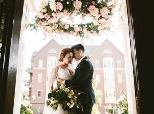 Intimate Wedding Photography at 300 Clifton in Minnesota