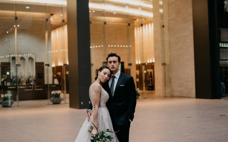 Wedding Photography in Downtown Minneapolis Wedding