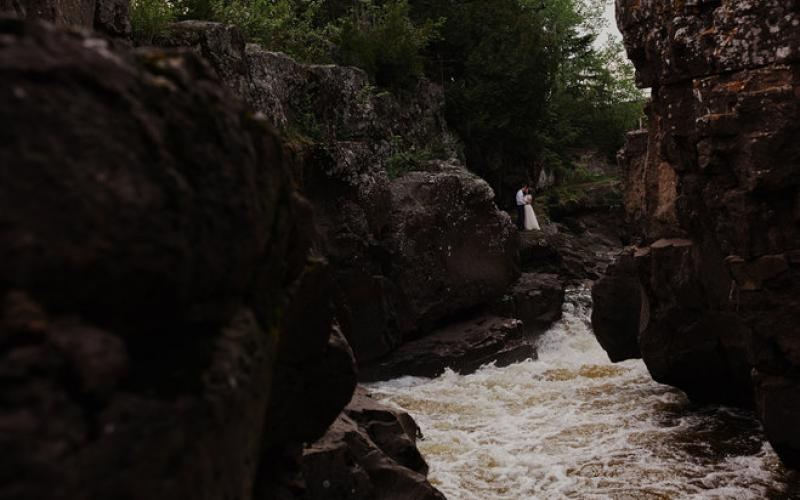 Wedding Photography at Temperance River State Park