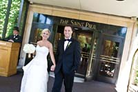 The Saint Paul Hotel. Photo by Kelly Brown Weddings.