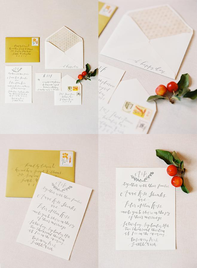 Pacific Northwest Harvest Wedding Inspiration_Invitations_LaHappy