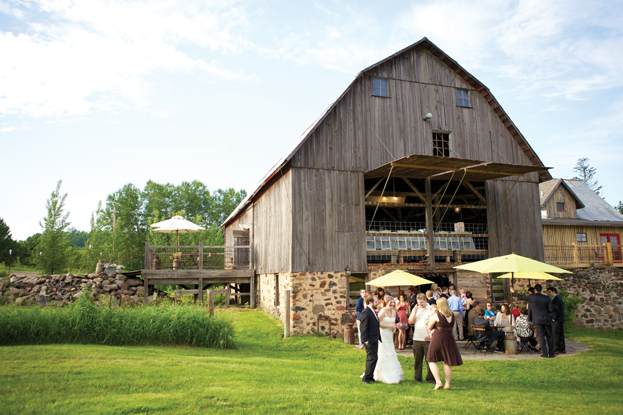 Best Outdoor Reception Site The Enchanted Barn