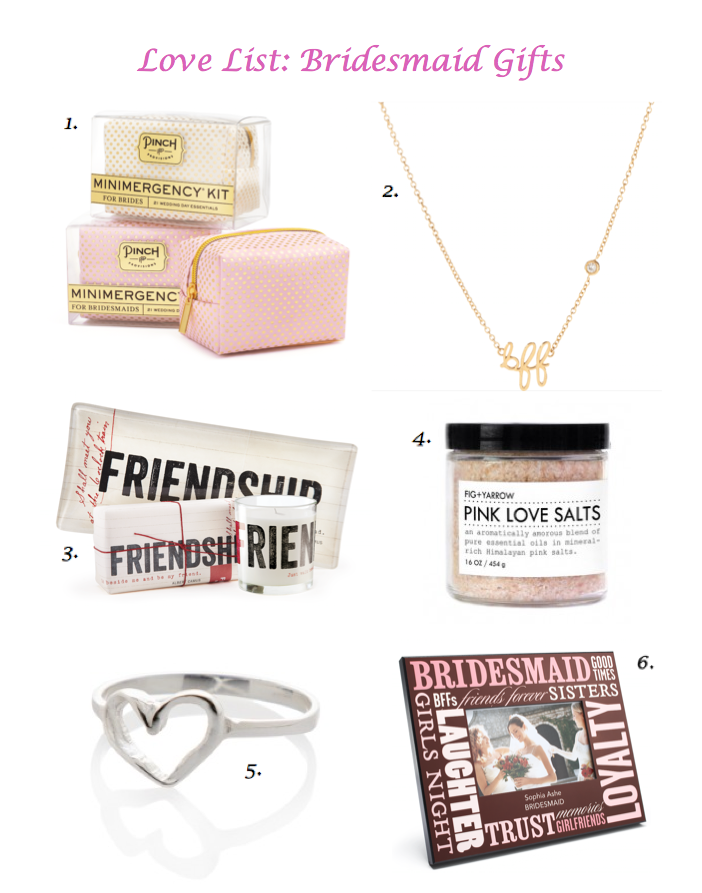 the best and most adorable bridesmaid gifts at every budget