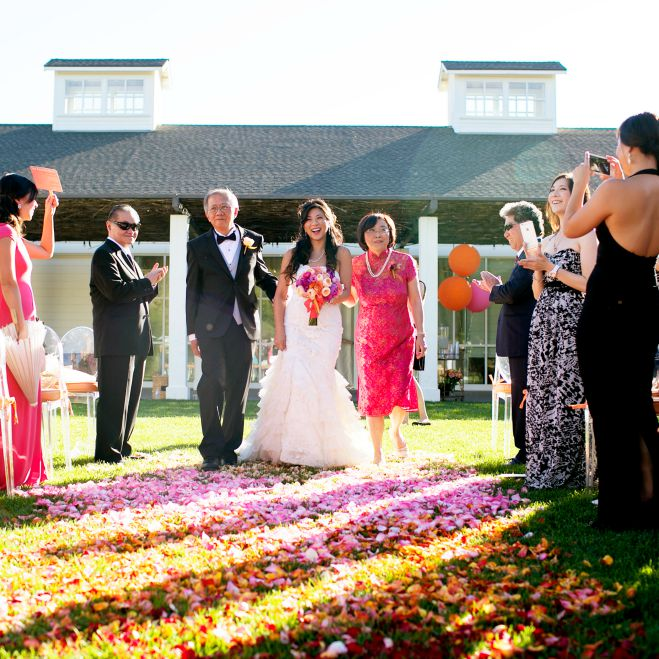 Sonoma Wedding, Chinese, Bright Colors, Cultural