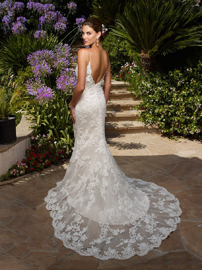 10 open back wedding dresses that wow from casablanca bridal from casablanca bridal casablancawedding dress junglespirit Images