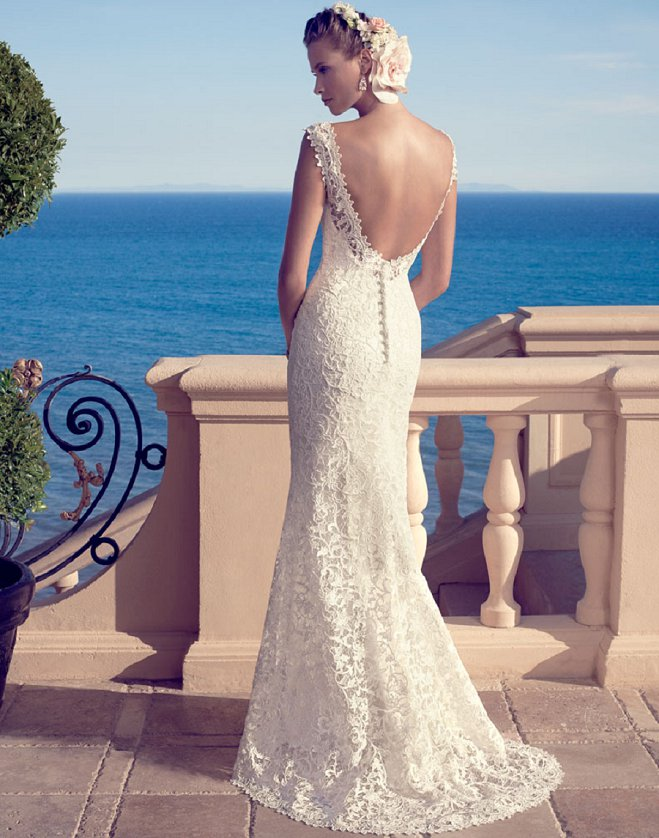 10 Open Back Wedding Dresses That Wow from Casablanca Bridal ...