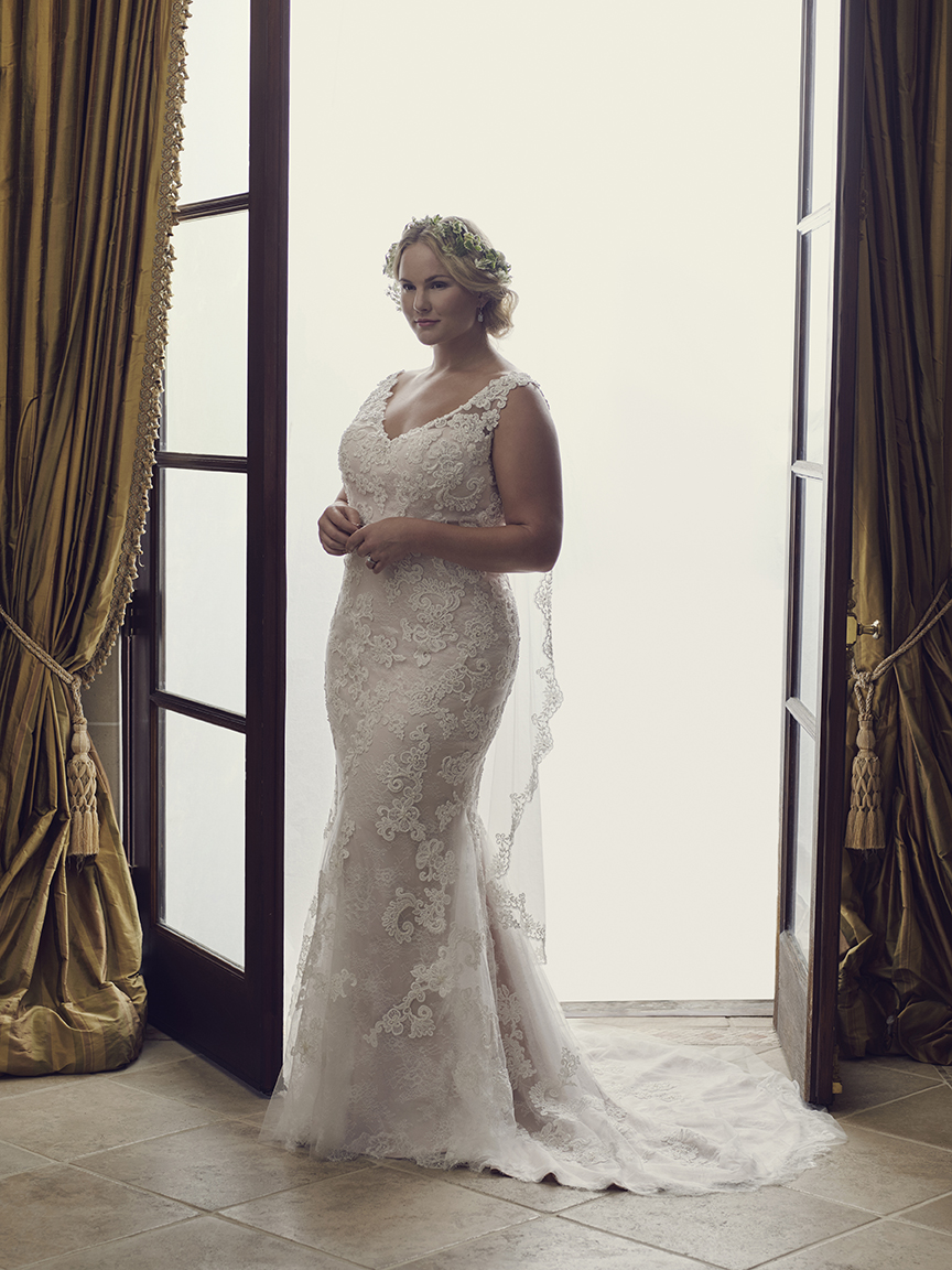5 Fabulous Gowns for the Full-Figured Bride | California Wedding Day