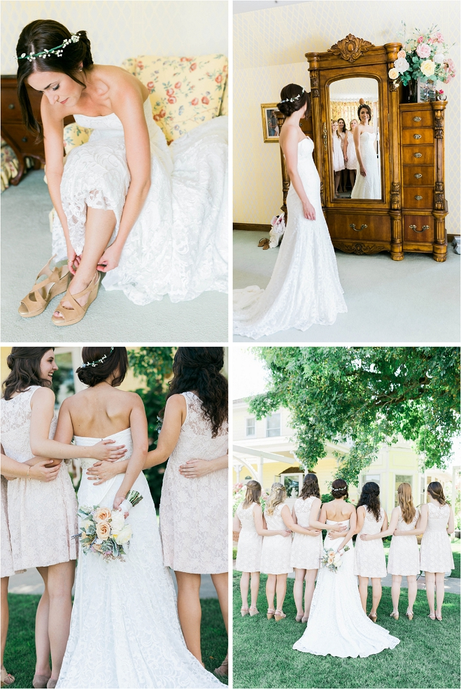 Rustic Chic Backyard Wedding | California Wedding Day