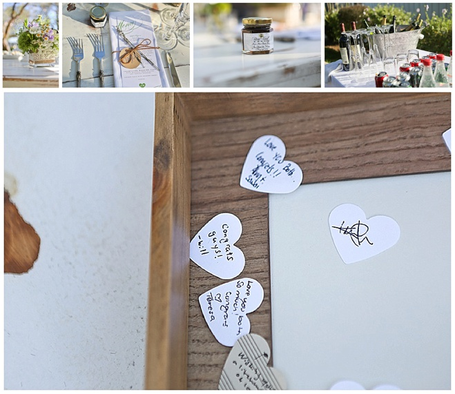 guest book and details