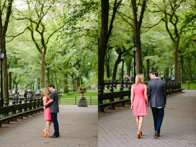 Modern and Classic New York City Engagement Session