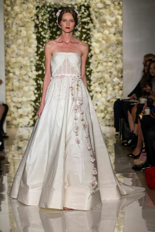 Reem Acra Spring 2015: Couture and Cut-Outs | California Wedding Day