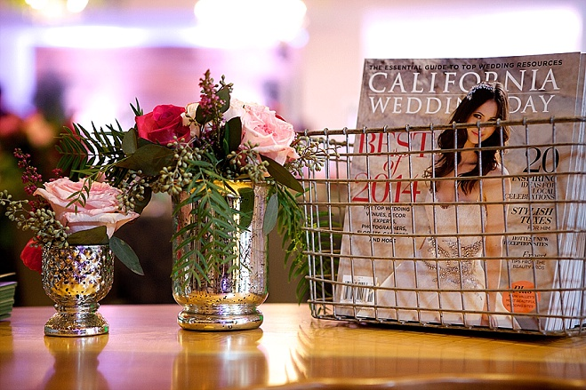 orange county venue, orange county planner, the colony house, pink wedding colors