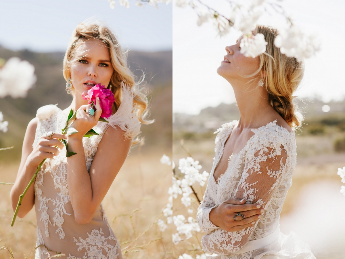 Samantha Wills Bohemian Bridal Jewelry Collection After Dusk Wedding