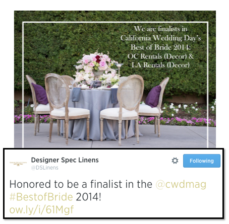 Enplug Social Media California Wedding Day Best of Bride Event Twitter and Instagram