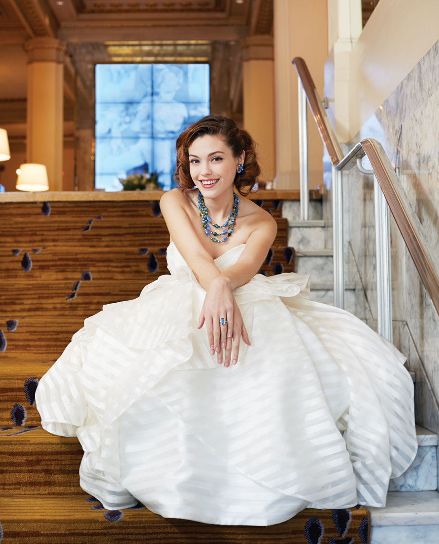 Dancing on Air: Old School Glamour Meets Modern Wedding Gowns ...