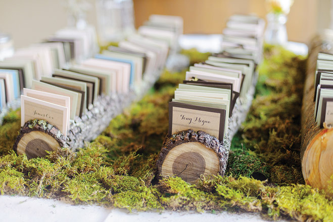 This Earthy Wedding Brought the Outdoors In