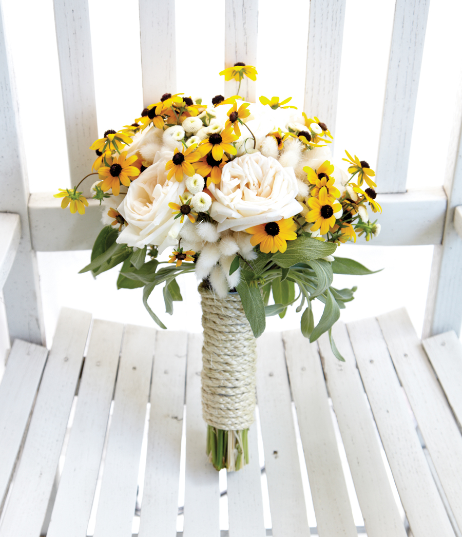 Wildflowers Add Texture And Flair To Contemporary Bridal Bouquets