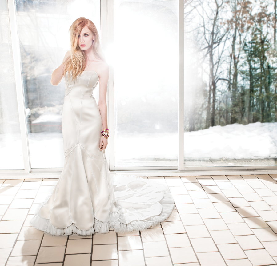 Wedding Gown Fashion: Ray Of Light