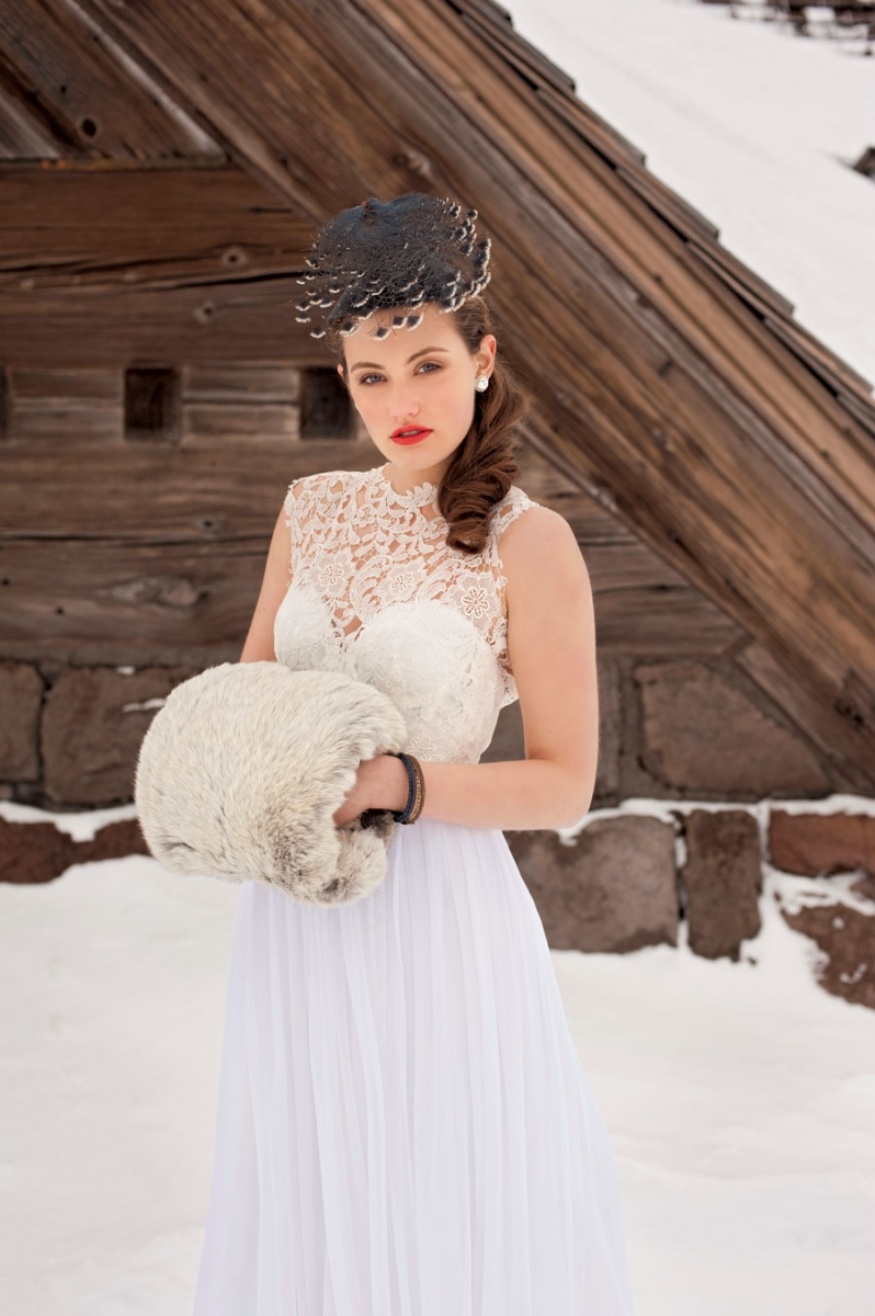 Winter White: Dramatic Wedding Gowns and Accessories | Oregon Bride