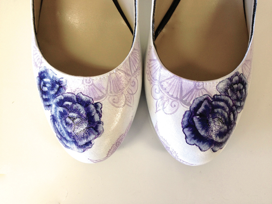 Bridal shoes by Hourglass Footwear