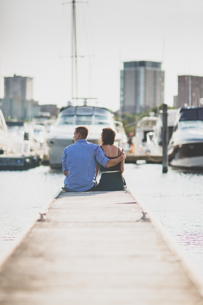 Before Sunset: A Summertime Engagement Session on the Shores of Lake