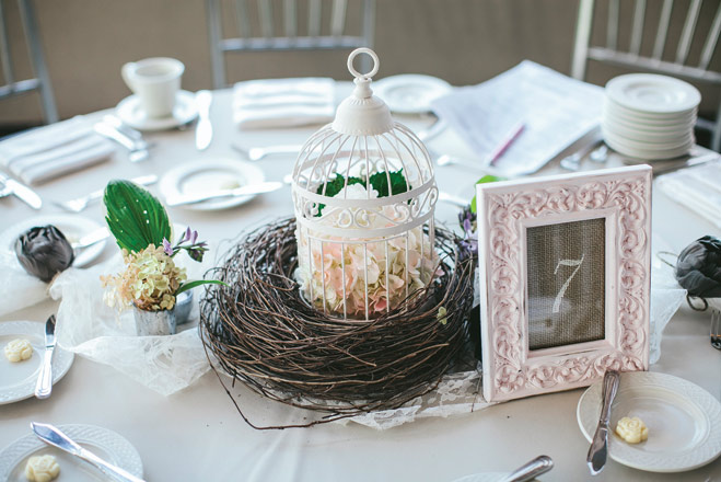 A Shabby Chic Wedding at the Carlson Towers Rotunda
