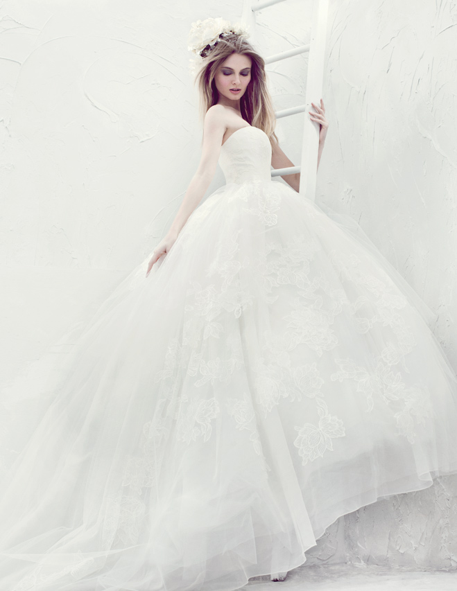 Couture Wedding Gowns and Accessories for the Ethereal Bride