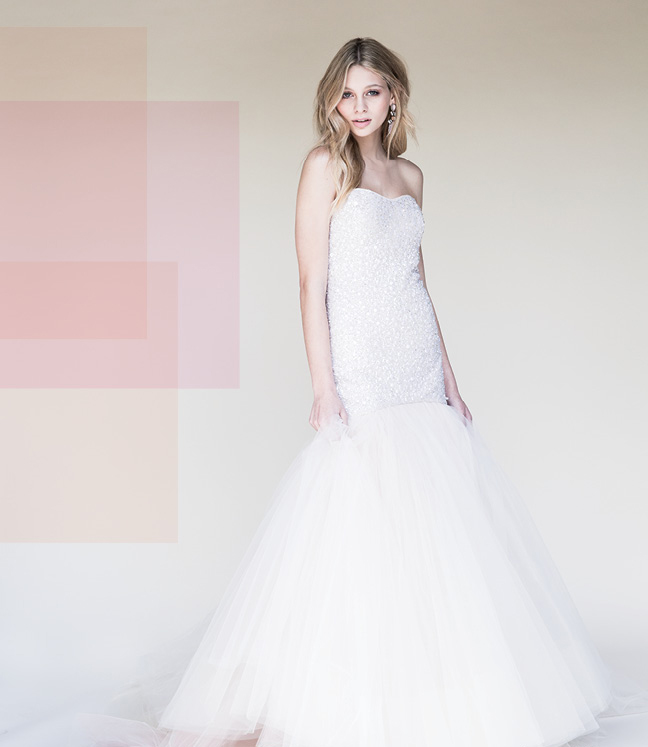 Think Pink: The Best in Blush-Colored Wedding Gowns