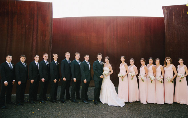 A Laid-back, Elegant Wedding at The Foundry