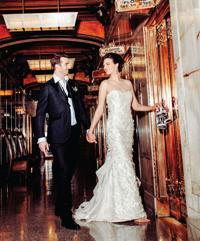 Love is in the Square: This Season's Wedding Gowns Photographed in Pioneer Square
