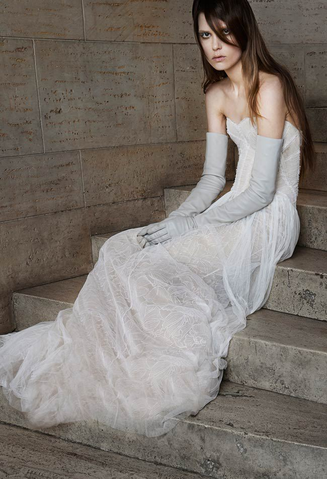 Vera Wang Unveils Her New Spring 2015 Bridal Gown Collection with a ...