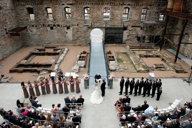An Elegant Mill City Museum Wedding in Minneapolis