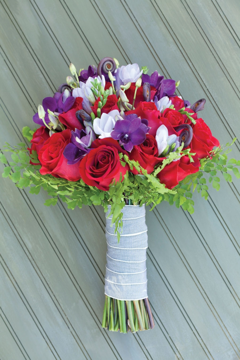 Wedding bouquets inspired by Oregon