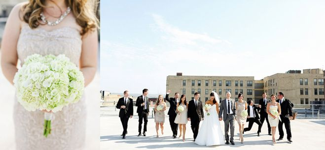 Erin Amp Eric A Gorgeous A Bulae Wedding With Rooftop