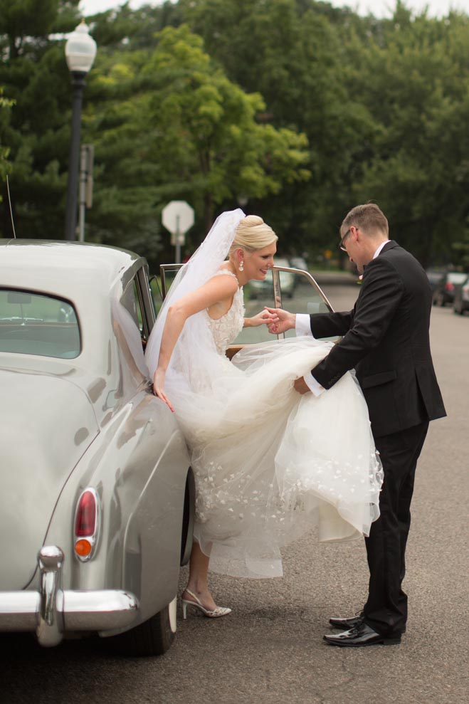 Jill Amp David A Nyc Couple Ties The Knot In The Minne