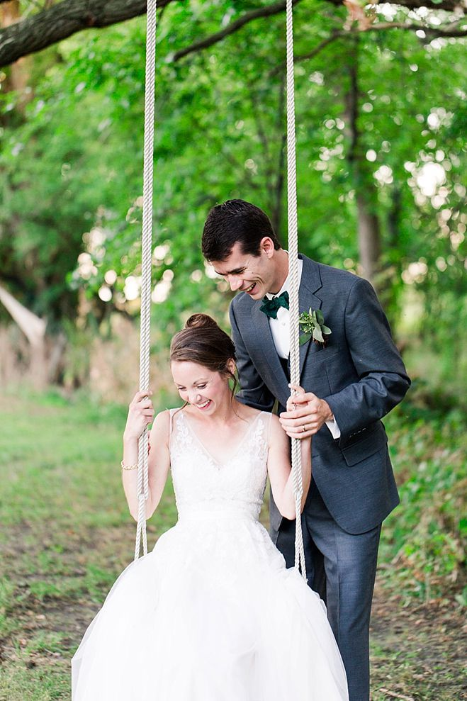 Samantha Amp Jacob Sweet Vows In A Wooded Wonderland