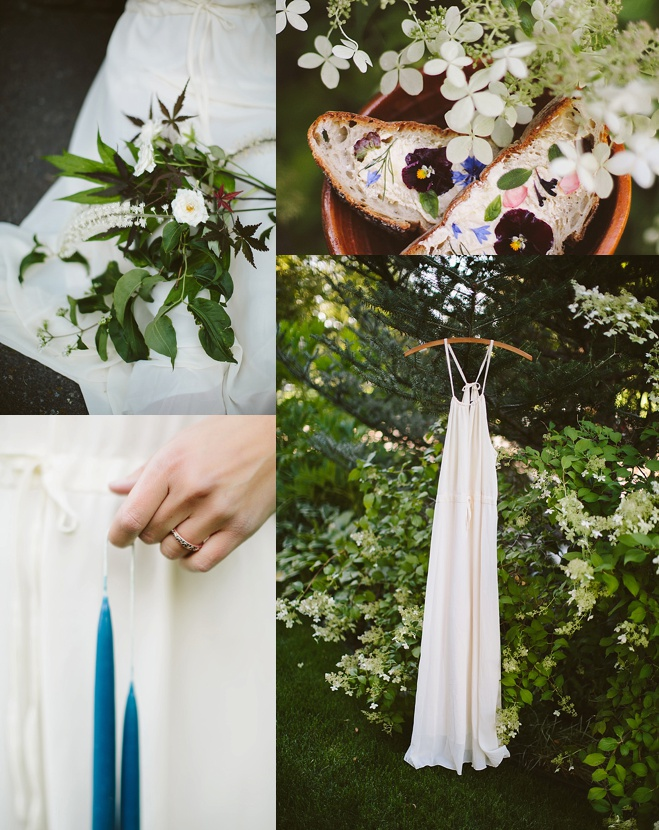 Allison Harp Spring Garden Styled Shoot Oregon Bride Magazine
