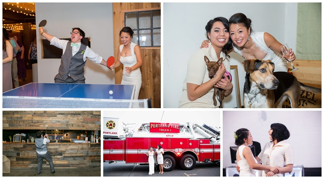 Colorful urban wedding in downtown Portland by Powers Photography Studios