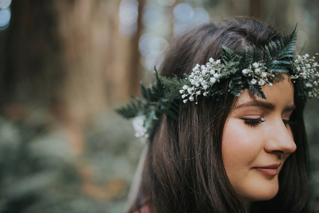 Hippie Forest Wedding