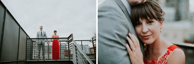 Urban Rooftop Wedding