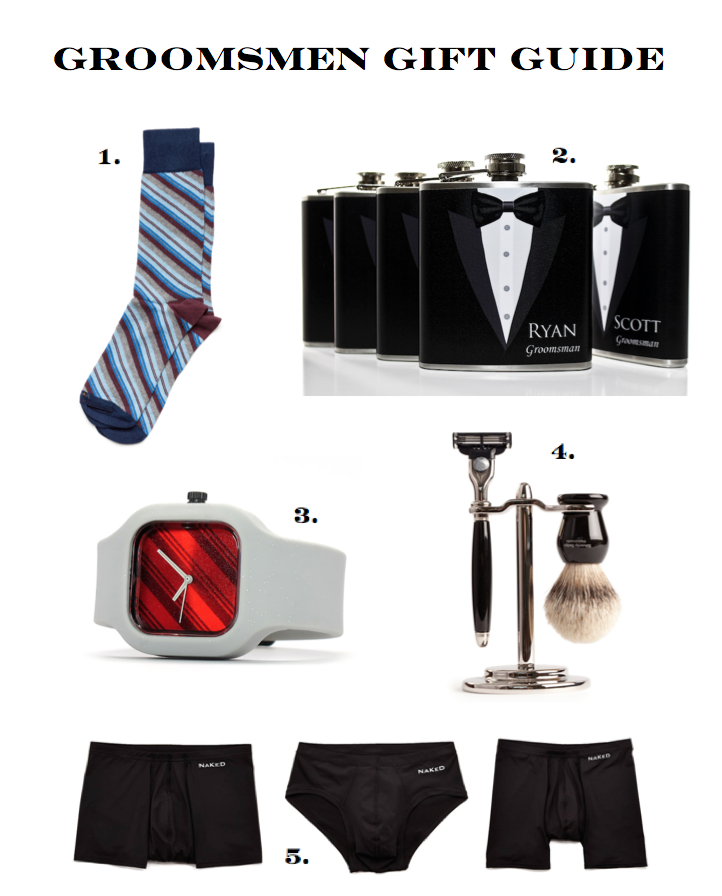 The best gifts for groomsmen