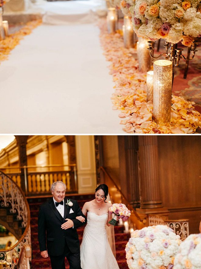 Downtown Seattle Wedding At The Fairmont Olympic Hotel