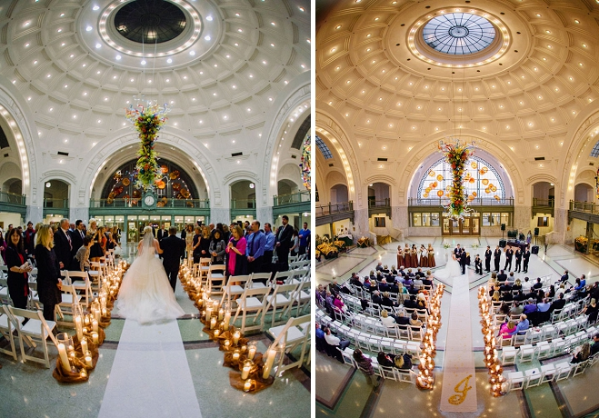 Vibrant Winter Wedding At Tacoma Union Station Seattle Bride