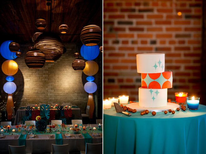Cake and Reception