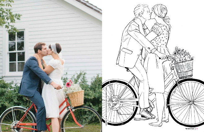 The Color of Love : Color Your Way Through the Wedding of Your ...