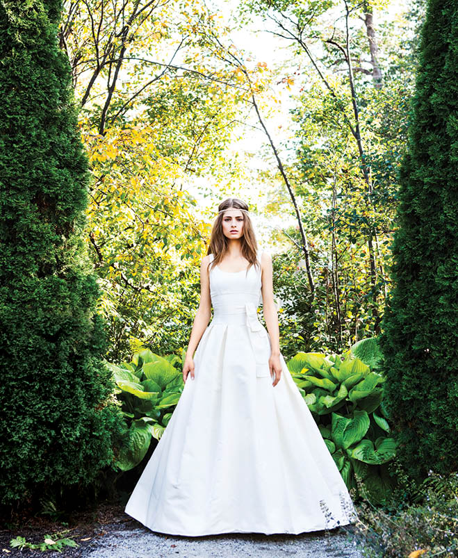 A Walk In The Park: This Season\'s Most Romantic Gowns | Wisconsin Bride