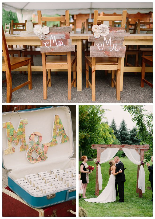Amy And Mikes Adventure Themed Outdoor Wedding Wisconsin Bride