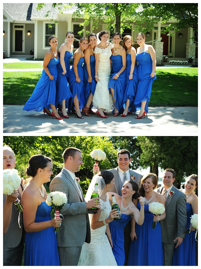 This July 4th Wedding Red, White and Blew Us Away! | Wisconsin Bride