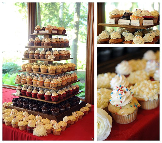 this kelsey brad wedding wisconsin bride art of exposure photography wibride marriage groom door county ceremony reception independence day red white blue firework usa america flower cake cupcake july fourth
