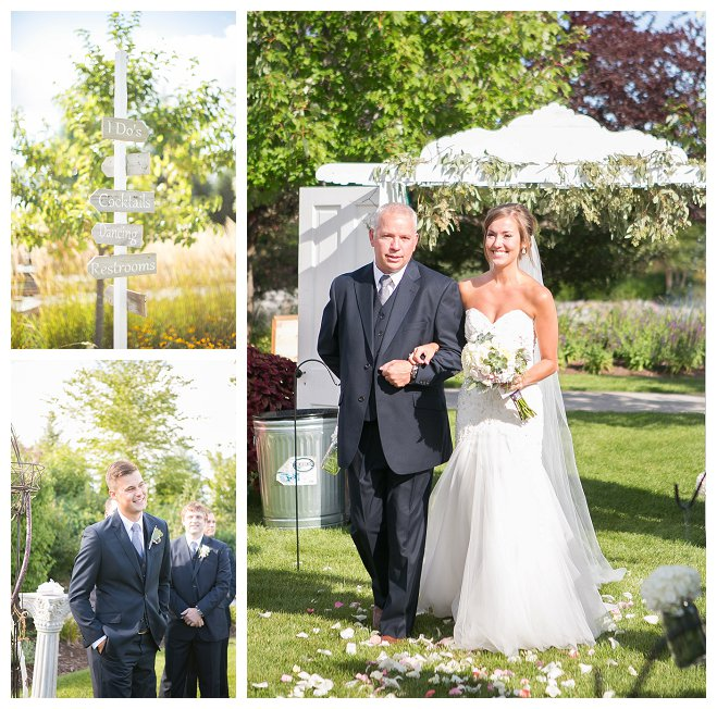 Outdoor Wedding Wisconsin: Samantha And Jon's Gorgeous Outdoor Wedding At Christopher